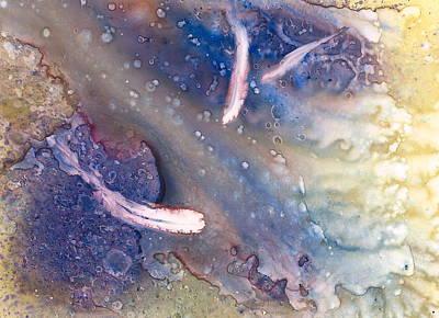 Wall Art - Painting - Tidal Pool II by Debra LePage