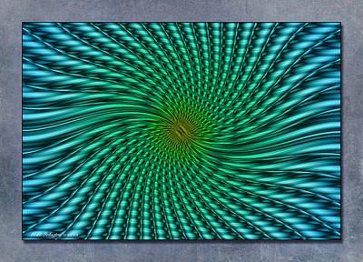 Digital Art - Tidal Ride by WB Johnston
