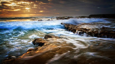 Photograph - Tidal Wash by Tim Nichols