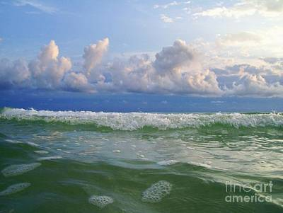Photograph - Tidal Wave by Carolyn Bistline