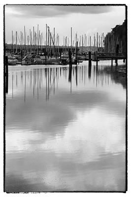 Sails Photograph - Tide Flats Marina by David Patterson