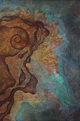 Metaphysical Painting - Tide Pool 3 by Ellen Starr