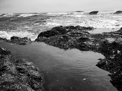 Photograph - Tide Pool by Tarey Potter