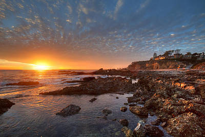 Photograph - Tide Pools At Corona Del Mar by Cliff Wassmann