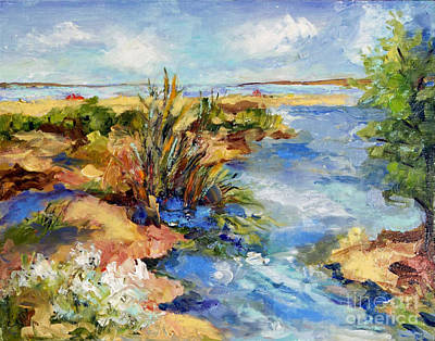 Painting - Tide Pools by Sharon Furner