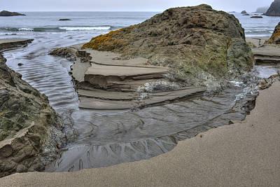 Photograph - Tide Sculpture by Loree Johnson