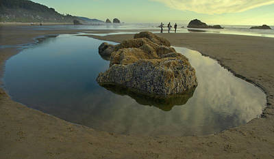 Art Print featuring the photograph Tidepool Monolith by Arthur Fix