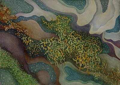 Painting - Tidepool Textures by Anne Havard