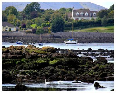 Photograph - Tides Out On Galway Coast by Frank Wickham
