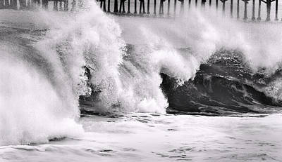 Tides Will Turn Bw By Denise Dube Art Print