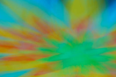Tie Dye Abstract Art Print