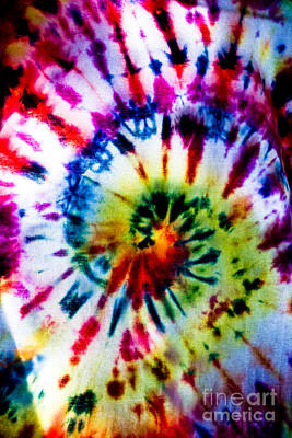 Photograph - Tie Dyed T-shirt by Cheryl Baxter