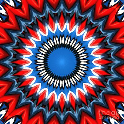 Digital Art - Tie Dyed by Wendy Wilton