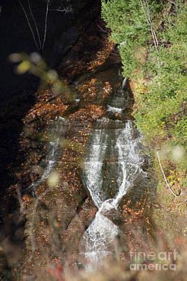 Photograph - Tie Falls by William Norton