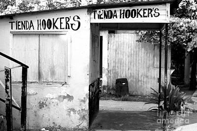 Photograph - Tienda Hookers by John Rizzuto