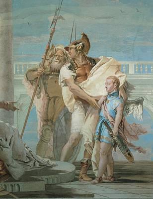 Guise Photograph - Tiepolo Giambattista, Aeneas by Everett