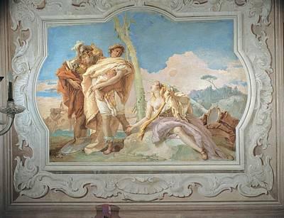 Tiepolo Giambattista, Rinaldo Print by Everett