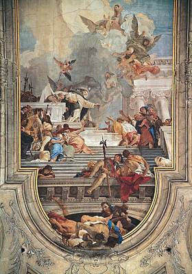 Tiepolo Giambattista, The Institution Art Print by Everett