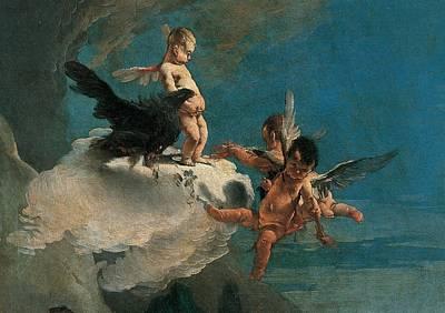 Tiepolo Giambattista, The Rape Art Print