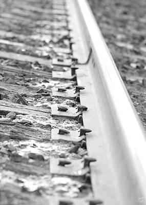 Cp Rail Photograph - Ties That Bind Us by Lisa Knechtel