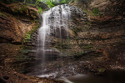Photograph - Tiffany Falls - 01 by Anthony Rego