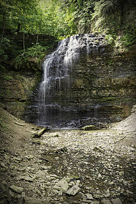 Photograph - Tiffany Falls by Dave Files