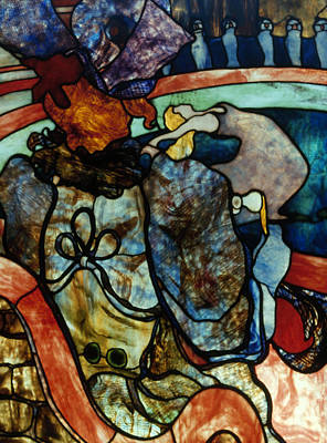 Comfort Painting - Tiffany Glass, 1894-95 by Granger