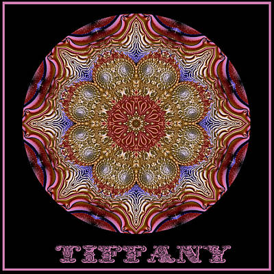 Digital Art - Tiffany No 2 by Charmaine Zoe