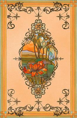 Tiffany Tree Art Print
