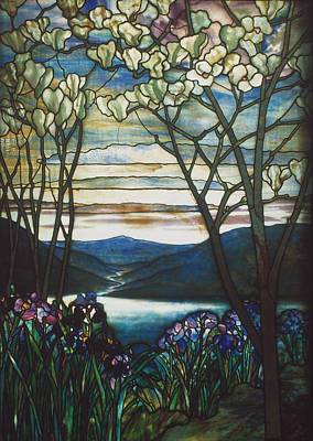 Turn Of The Century Painting - Tiffany Window, 1905 by Granger