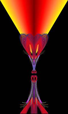 Digital Art - Tiffany's Night Light by Stephen Coenen