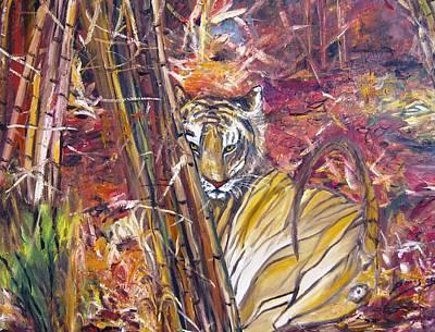 Tiger 1 Art Print