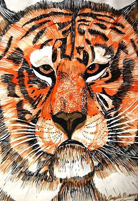 Photograph - Tiger by Angela Murray