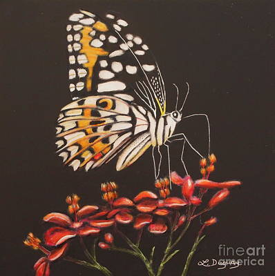 Mixed Media - Tiger Butterfly by Lora Duguay