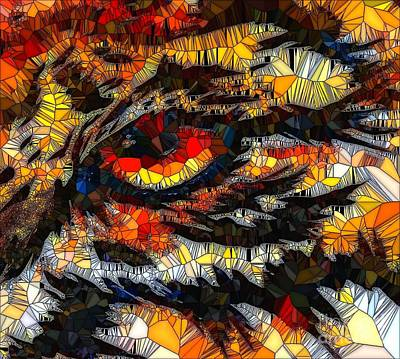 Painting - Tiger Eye II by Saundra Myles
