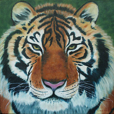 Painting - Tiger Eyes by Jill Ciccone Pike
