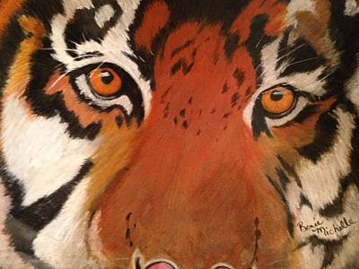 Pastel - Tiger Eyes by Renee Michelle Wenker
