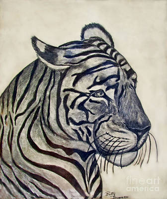 Tiger II Art Print by Debbie Portwood