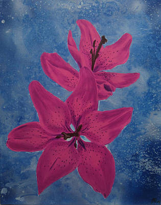 Tiger Lily Mixed Media - Tiger Lily by Nathan Wilson