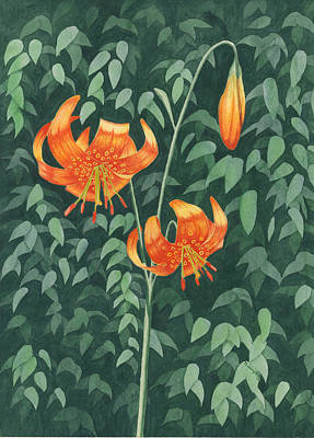 Painting - Tiger Lily by Timothy Livingston