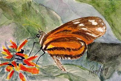 Painting - Tiger Longwing by Peggy King