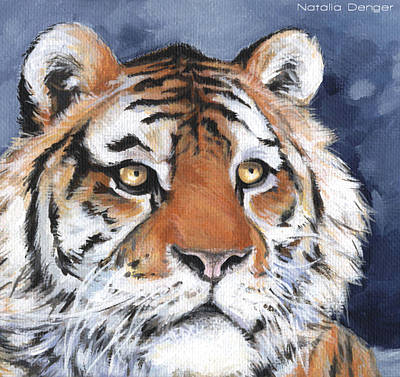 Painting - Tiger by Natasha Denger