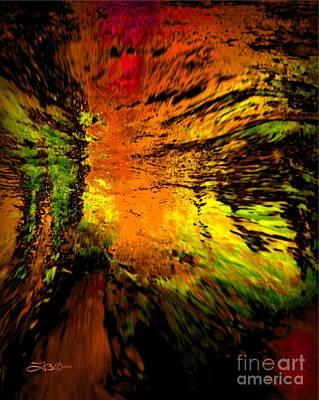 Decorative Painting - Tiger Ridge by TLynn Brentnall