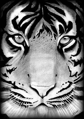 Tiger Art Print by Saki Art