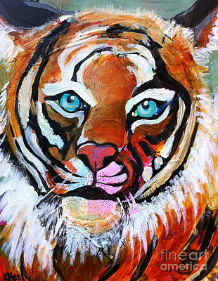 Painting - Tiger Spirit by Kim Heil