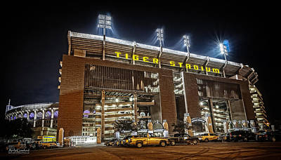 Photograph - Tiger Stadium by Andy Crawford