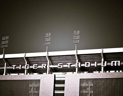 Louisiana State University Photograph - Tiger Stadium by Maggy Marsh