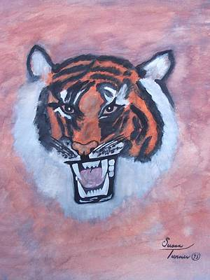 Painting - Tiger by Susan Turner Soulis