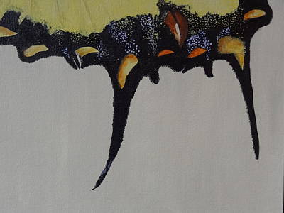 Painting - Tiger Swallowtail Wing by Nancy Fillip
