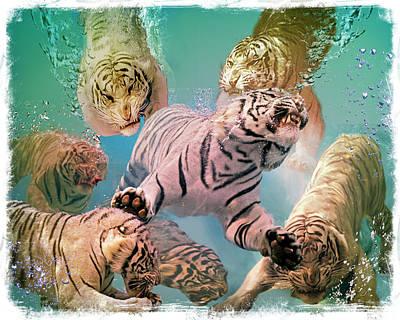 Tiger Tank Art Print